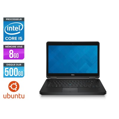 Pc portable reconditionné - Dell Latitude E5440 - i5 - 8Go - 500Go HDD - Linux