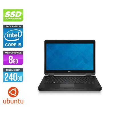 Pc portable reconditionné - Dell Latitude E5440 - i5 - 8Go - 240Go SSD - Linux