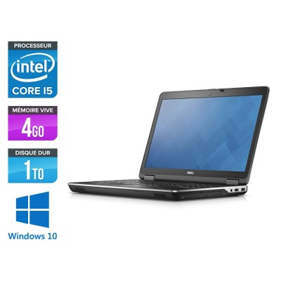 Pc portable - Dell Latitude E6440 - i5 - 4Go - 1To HDD - Windows 10 Famille