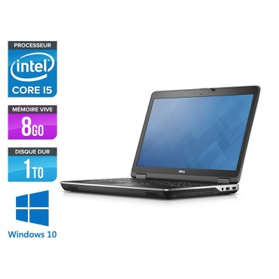 Pc portable - Dell Latitude E6440 - i5 - 8Go - 1To HDD - Windows 10