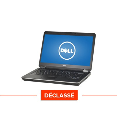 Pc portable - Dell Latitude E6440 - Trade Discount - Déclassé - i5 - 4Go - 320Go HDD - Webcam - Windows 10 Famille