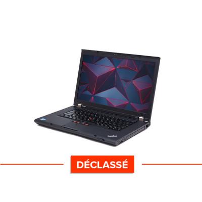 Workstation portable reconditionnée - Lenovo ThinkPad W530 - Déclassé