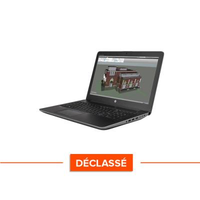 Workstation reconditionnée - HP Zbook 15 G3 - déclassé