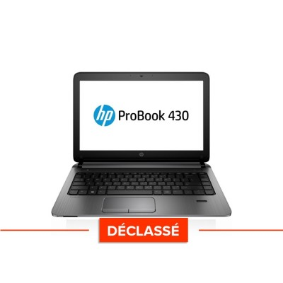 Pc portable - HP Probook 430 G1 - i5 - 4Go - 120Go SSD - 13.3'' - W10 - Déclassé