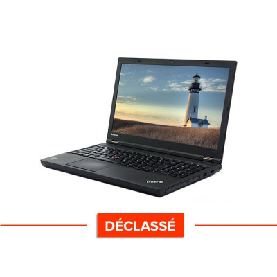 Pc portable reconditionné - Lenovo ThinkPad W540 - Déclassé