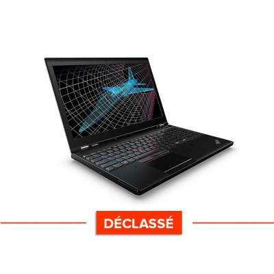 Workstation reconditionnée - Lenovo ThinkPad P50 - Déclassé