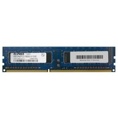 Mémoire Elpida DIMM DDR3 PC3-10600U - 4 Go 1333 MHz