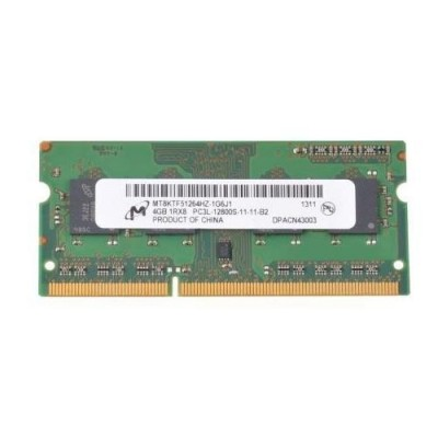 Mémoire Micron So-DIMM DDR3 PC3L-12800S - 4 Go 1600 MHz