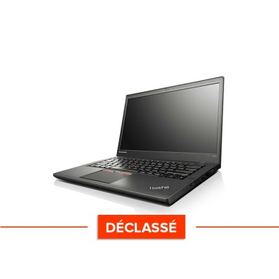 Lenovo ThinkPad T450S - i5 5300U - 8Go - SSD 240Go - Windows 10 - Déclassé