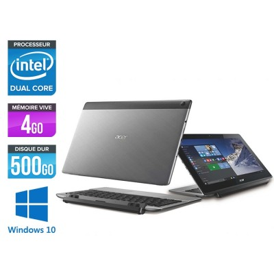 Acer Aspire Switch 11 V SW5-173-68NQ - 4Go - 500Go HDD + SSD 60Go - FHD - W10