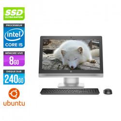 PC Tout-en-un HP EliteOne 800 G2 AiO - Ubuntu / Linux