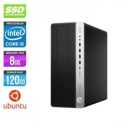 HP EliteDesk 800 G3 Tour - Ubuntu / Linux