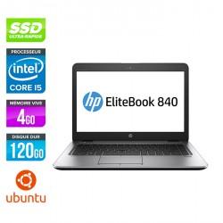 HP EliteBook 840 - Ubuntu / Linux