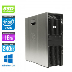 HP Workstation Z600 - Windows 10