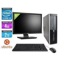 HP Elite 8200 SFF - Linux + Ecran 22''