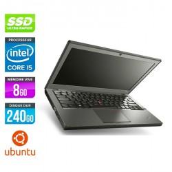 Lenovo ThinkPad X240 - Ubuntu / Linux