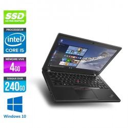 Lenovo ThinkPad X260 - Windows 10
