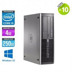 Lot de 10 HP Elite 8200 SFF - Windows 10