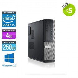 Lot de 5 Dell Optiplex 7010 Desktop - Windows 10
