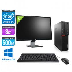 Lenovo ThinkCentre M800 SFF - Windows 10 + Ecran 23''