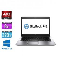 HP EliteBook 745 G2 - Windows 10