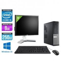 Dell Optiplex 7010 Desktop - Windows 10 + Ecran 19''