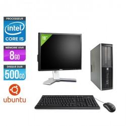 HP Elite 8300 SFF - Linux + Ecran 19''