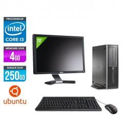 HP 6200 Pro SFF + Ecran 20'' - Linux