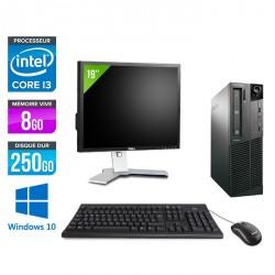 Lenovo ThinkCentre M81 Desktop + Ecran 19'' - Windows 10