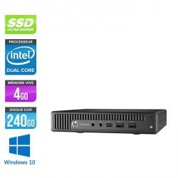 HP EliteDesk 800 G2 DM - Windows 10