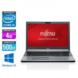 Fujitsu LifeBook E754 - Windows 10