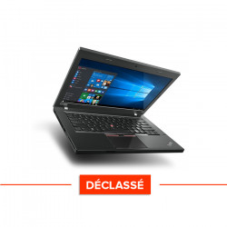 Lenovo ThinkPad L460 - Windows 10 - Déclassé