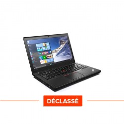 Lenovo ThinkPad X260 - Windows 10 - Déclassé